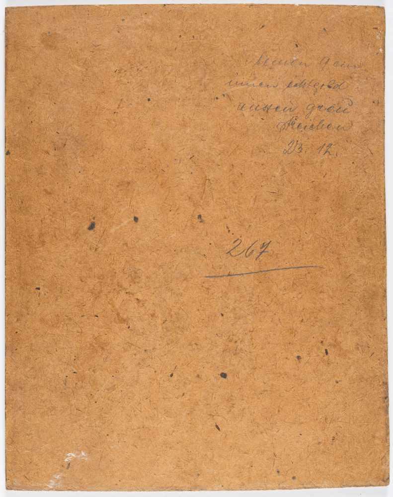 Lot 47 - Louis Douzette1834 Tribsees – Barth 1924Brennende Windmühle bei NachtÖl auf Velin, auf