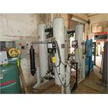 PNEUMATIC PRODUCTS 505DHA-EMI DESICCANT TWIN TANK AIR DRYER (SKID-MOUNTED)