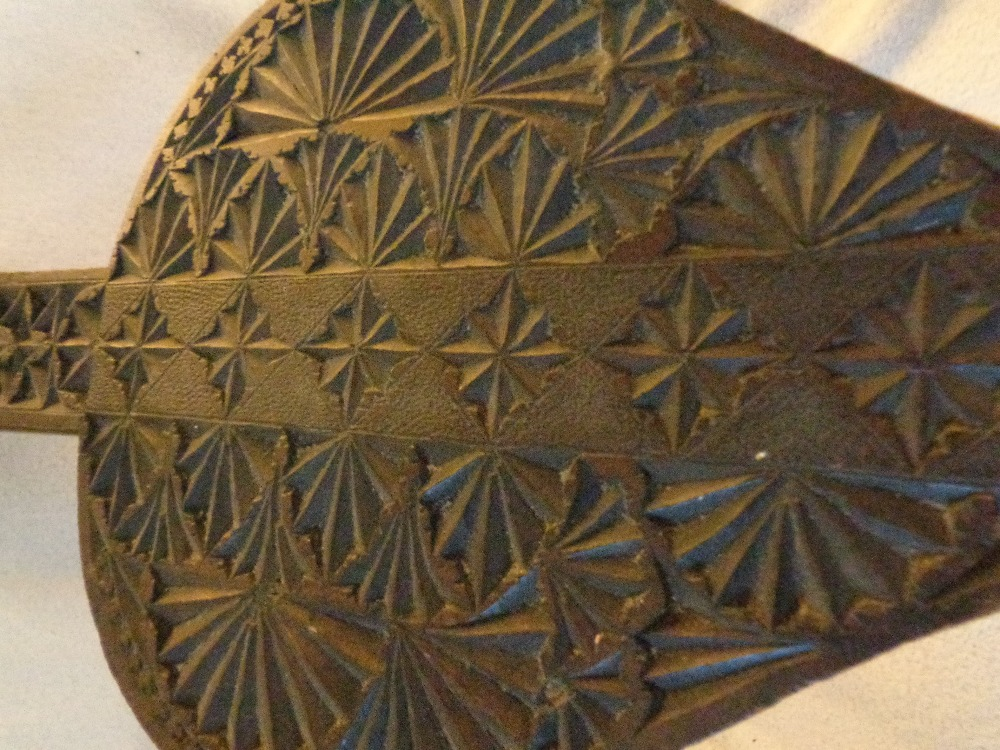 """Lot 20 - BLOW BELLOWS VINTAGE - GREAT WALL HANGING PIECE 36"""""""" X 10"""""""""""