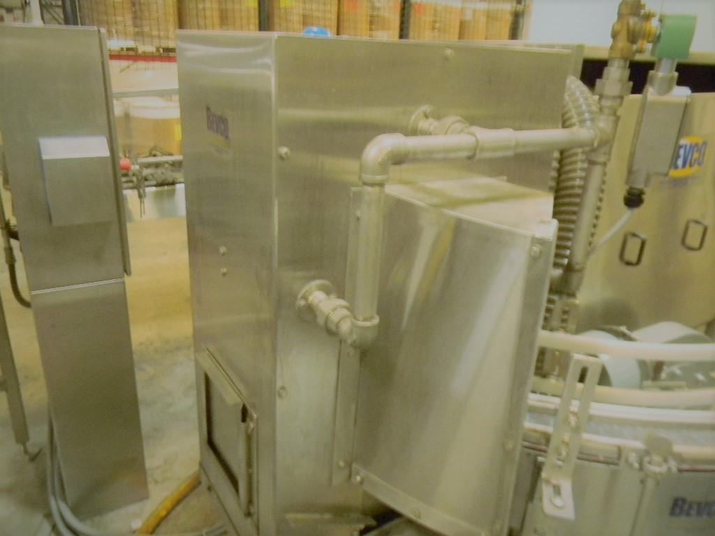 Lot 5 - Bevco Bottle Washer / Drier, Model: MT Washer w/ Drying Tunnel, Wet Rinser Wash Tunnel Model: WT