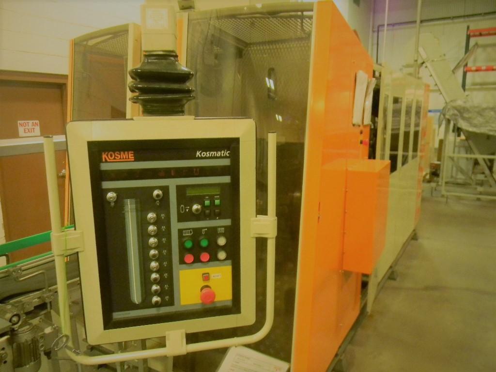 Lot 1 - Kosme PET Stretch Blowmolder, Model: KSB2000, Serial Number: K2D0081, Includes Chiller