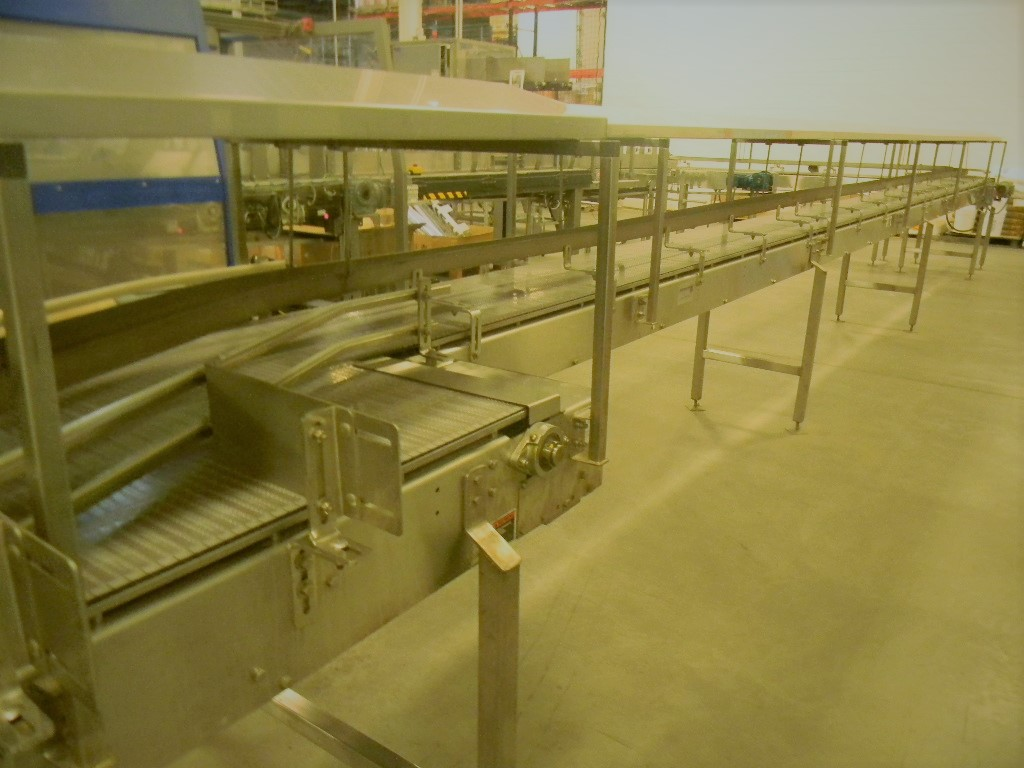 "Lot 19 - Accumulation Conveyor, All S/S, 18"" Wide Intralox Chain (Subject to Bulk Bid in Lot 22)"
