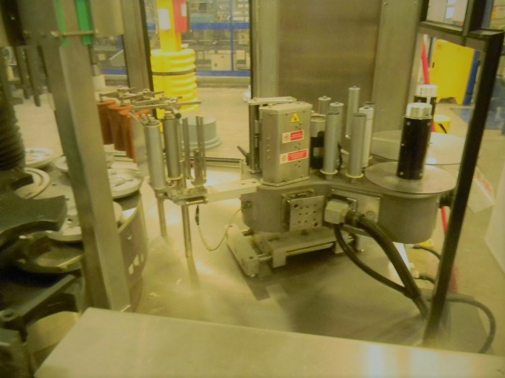Lot 3 - Sarcmi Opera Rotary Pressure Sensitive Labeler, Model: AD 9T S1/E1, Serial Number: 813,