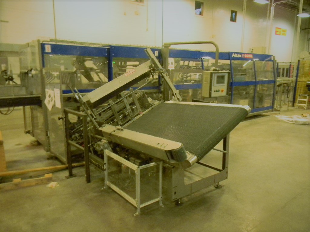 Lot 7 - Ocme Wraparound Case Packer, Model: ALTAIR N50, Serial Number: 3177 1/177/03