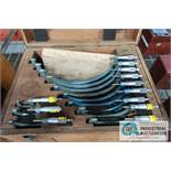 """0"""" - 12"""" MITUTOYO OUTSIDE MICROMETER SET"""