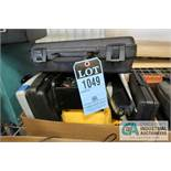 (LOT) MISC. METER TESTERS INCLUDING ELECTRICAL, TACHOMETER, SOUND, WIND