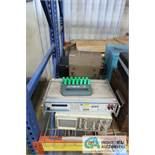 (LOT) VALHALLA 4176 OHMMETER, BECKMAN 9202 OCILLOSCOPE, MONOLITHIC LRMS 5200A OHMMETER, AC DRIVE