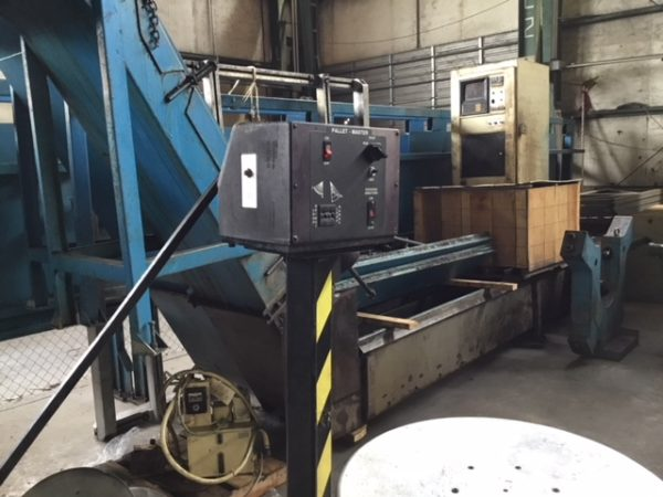 "5,000 LB. RAPID AIR MODEL DMP 50 PALLET DECOILER; S/N 93935, 50"" MAX COIL OD, 30"" MAX COIL - Image 9 of 9"