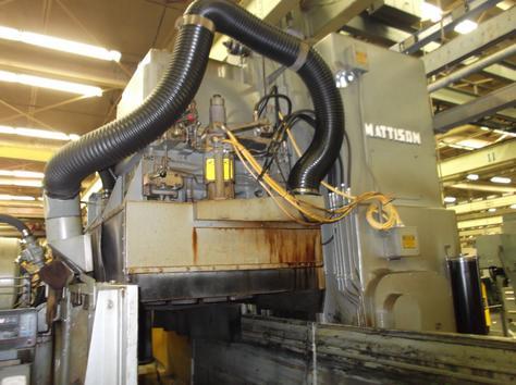 """24"""" X 96"""" MATTISON MODEL 900/400 FACEGRINDER COMBO GRINDER; S/N 900-56, CAPACITY 24"""" X 96"""", WALKER - Image 5 of 5"""