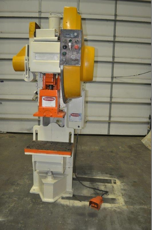 """35 TON NIAGARA MODEL AMB-35 ADJUSTABLE BEND HORN PRESSES; S/N 49359, 24"""" LEFT TO RIGHT X 16"""" FRONT - Image 3 of 9"""