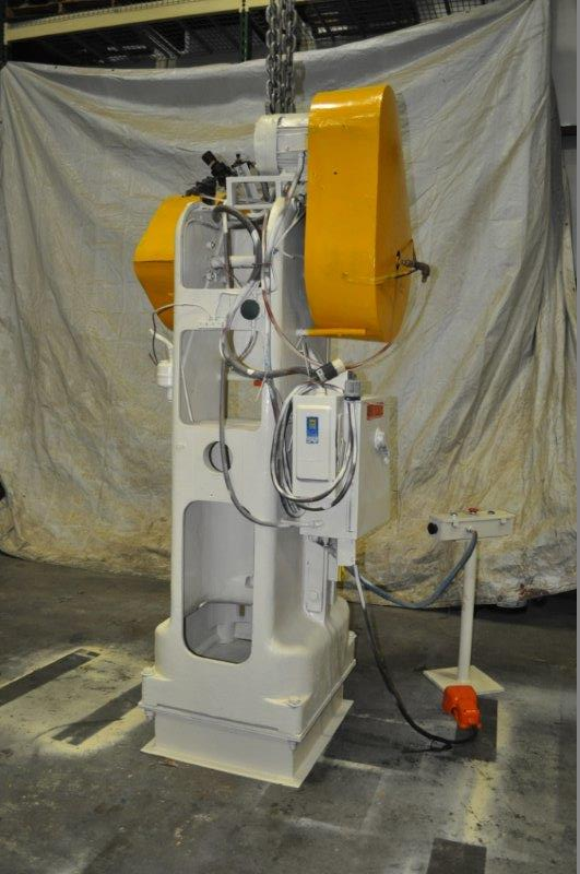 """40 TON ROUSELLE MODEL 40H HORN PRESS; S/N 22039, 6"""" STROKE, 26"""" LRX, 12"""" FRONT TO BACK BEND AREA, 45 - Image 4 of 7"""