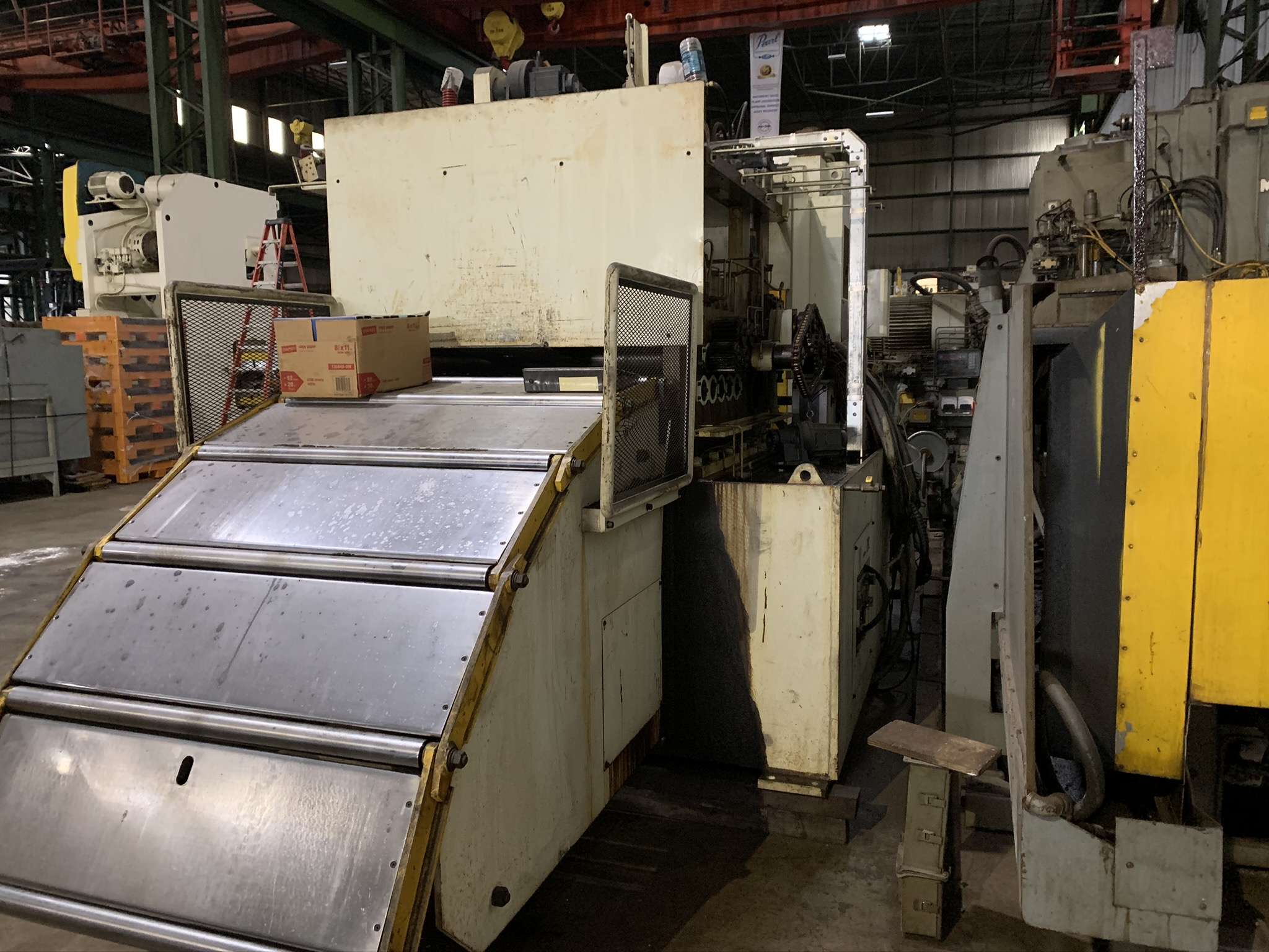 "11,000 LB. X 39"" X .177 SONORUKA SERVO FEED LINE; S/N 4533-4550, COIL WEIGHT 5,000 KG - 11,023 - Image 8 of 17"