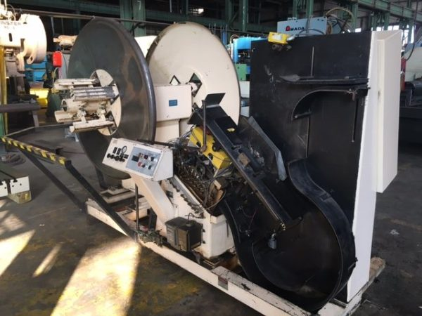 "6"" X 3,000 LB. MINSTER POWERED STRAIGHTENER / UNCOILER COMBINATION; S/N 13-11111, COMMON BASE, - Image 9 of 11"