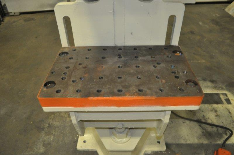 """35 TON NIAGARA MODEL AMB-35 ADJUSTABLE BEND HORN PRESSES; S/N 49359, 24"""" LEFT TO RIGHT X 16"""" FRONT - Image 5 of 9"""