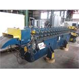 "BRADBURY 16-STAND ROLL FORM LINE; S/N 23891, BRADBURY RAFTED 1-1/2"" ROLL FORMER, 16-PASSES (COMPLETE"