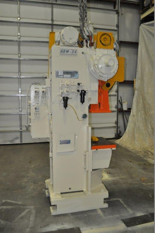 """35 TON NIAGARA MODEL AMB-35 ADJUSTABLE BEND HORN PRESSES; S/N 51901, 24"""" LEFT TO RIGHT X 16"""" FRONT - Image 2 of 6"""