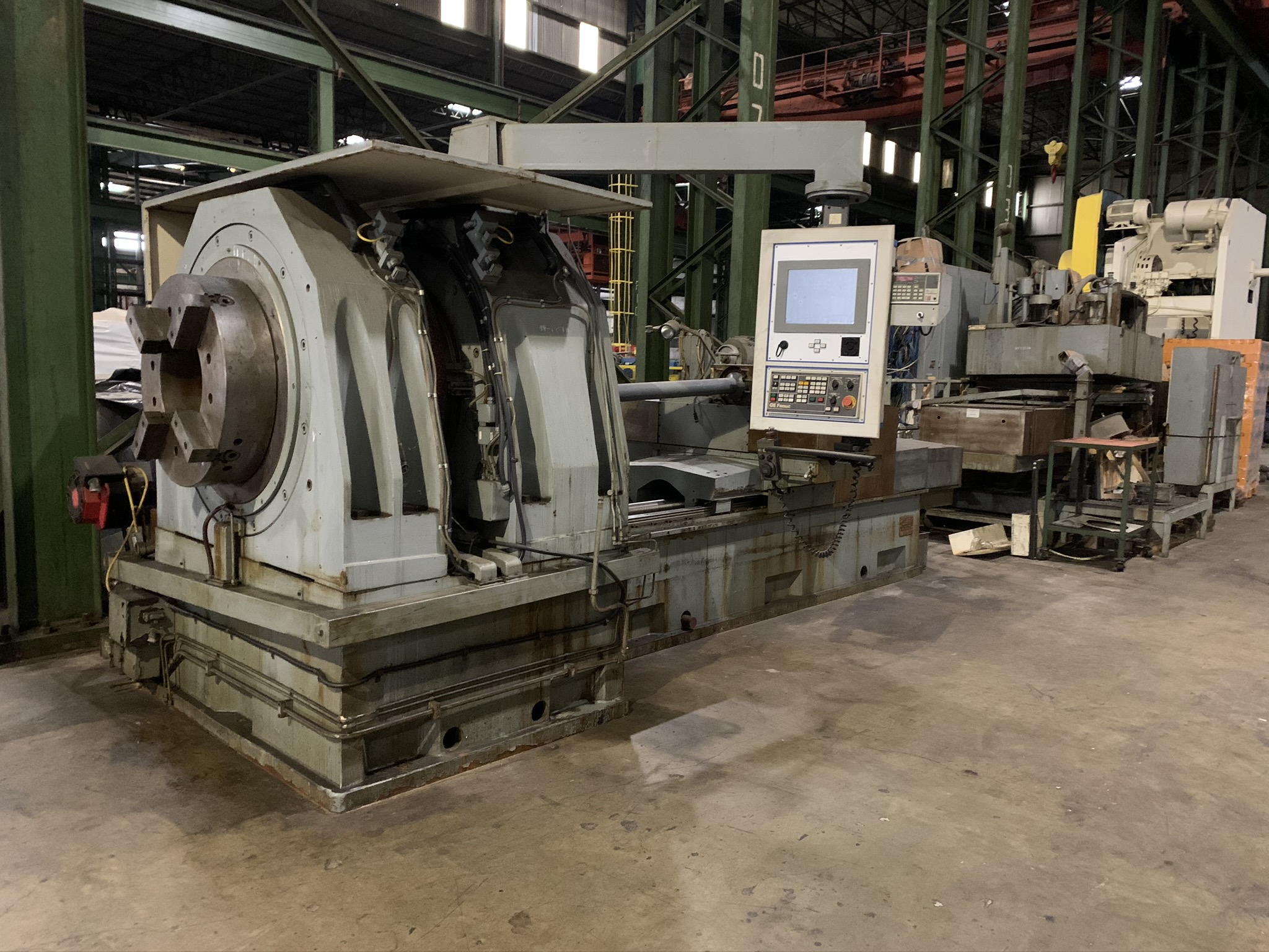 BUTLER NEWELL MODEL ICG100 CNC INTERNAL GRINDER; S/N CNC4069, 2005 RETROFITTED WITH FANUC,
