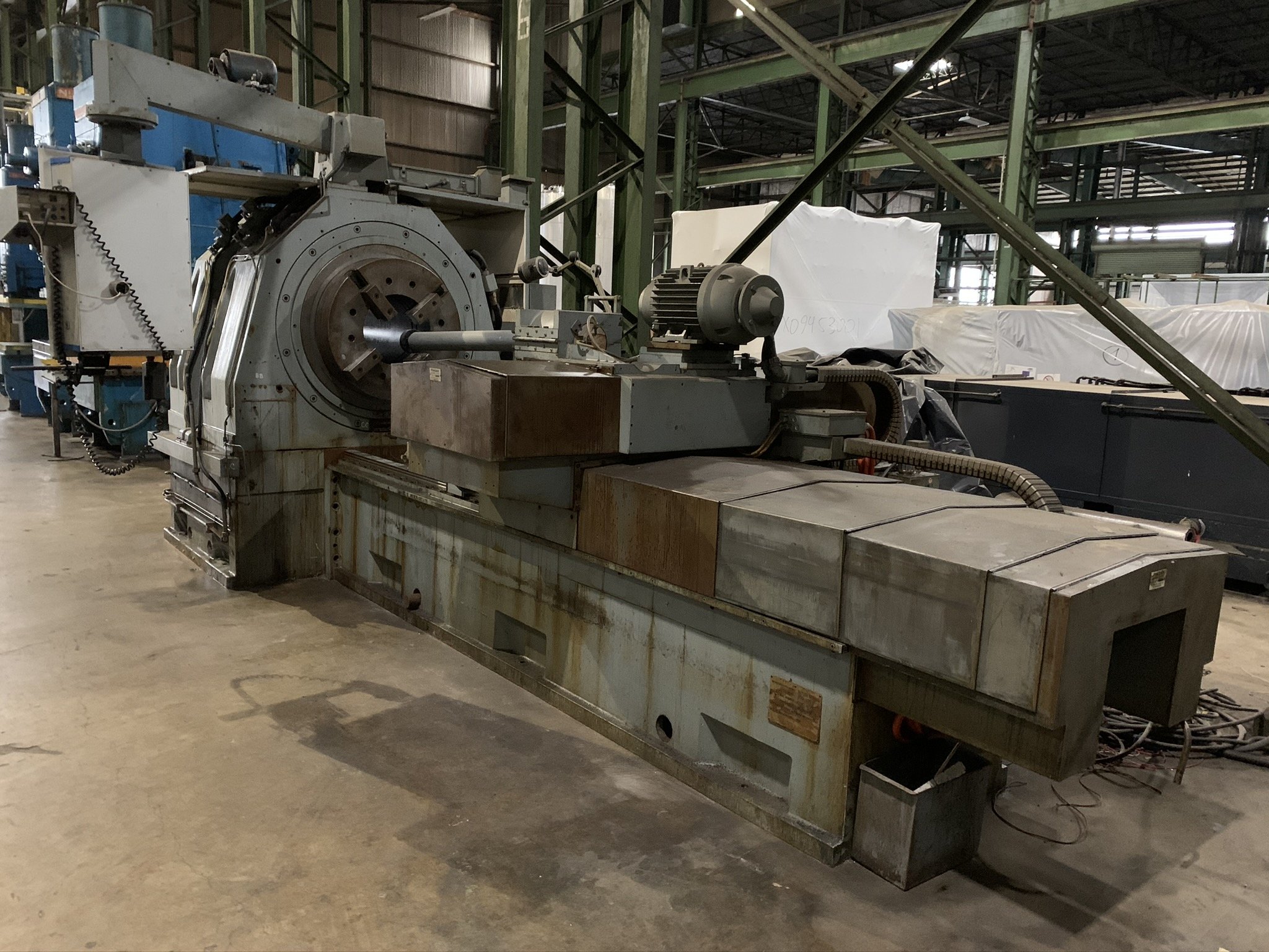 BUTLER NEWELL MODEL ICG100 CNC INTERNAL GRINDER; S/N CNC4069, 2005 RETROFITTED WITH FANUC, - Image 2 of 5