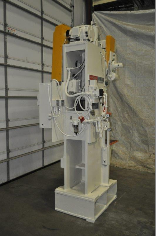 "35 TON NIAGARA MODEL AMB-35 ADJUSTABLE BEND HORN PRESSES; S/N 49362, 24"" LEFT TO RIGHT X 16"" FRONT - Image 3 of 8"