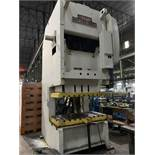 "200 TON NIAGARA MODEL S2G-200-60-30 DOUBLE CRANK GAP FRAME PRESS; S/N 50783, 60""LEFT TO RIGHT X"