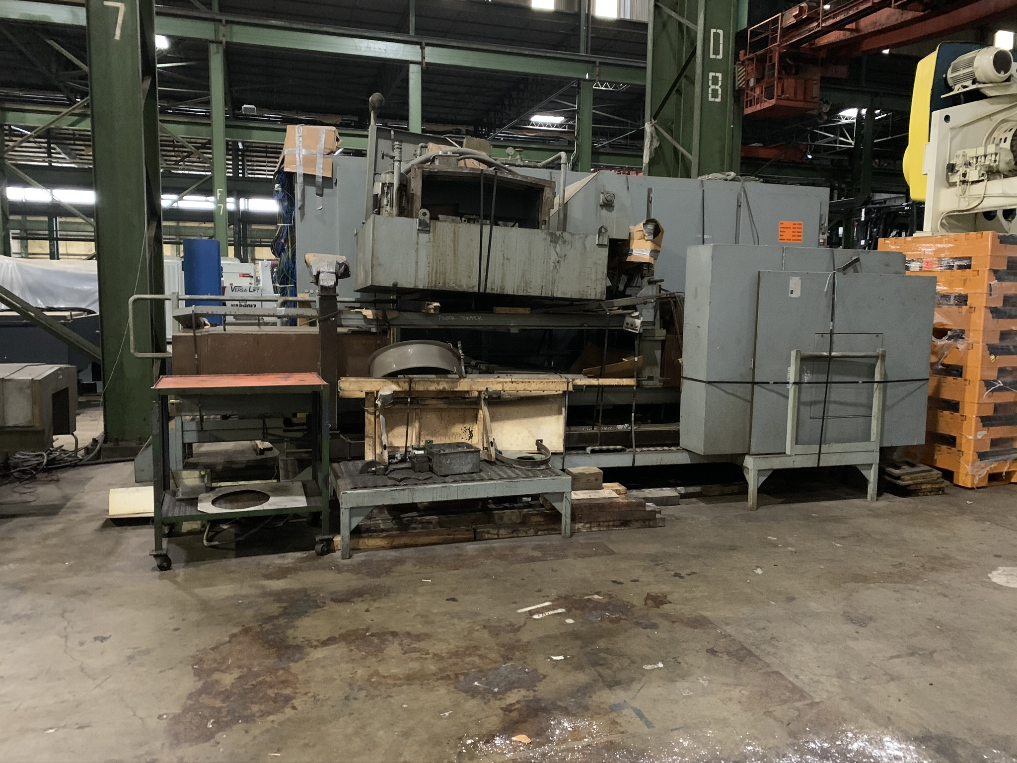 BUTLER NEWELL MODEL ICG100 CNC INTERNAL GRINDER; S/N CNC4069, 2005 RETROFITTED WITH FANUC, - Image 4 of 5
