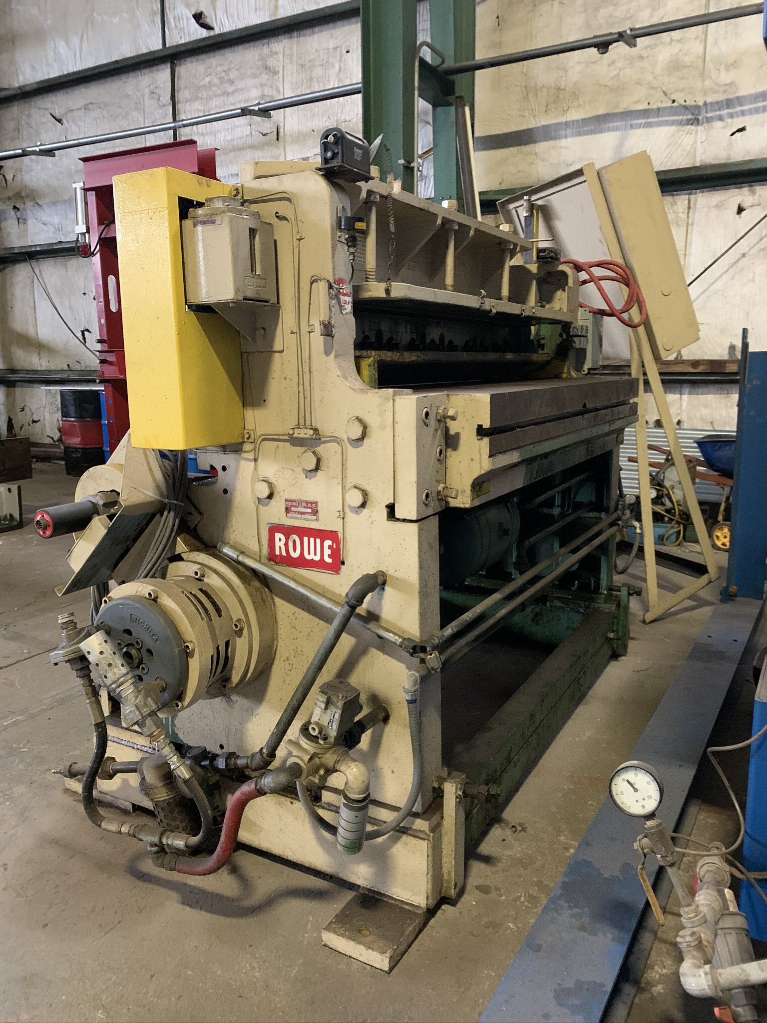 """WYSONG MODEL 1052 RKB LINE SHEAR; S/N P97-100, 52"""" WIDTH, AIR CLUTCH, BOW TIE BLADE, 15 HP 230/460 - Image 5 of 5"""