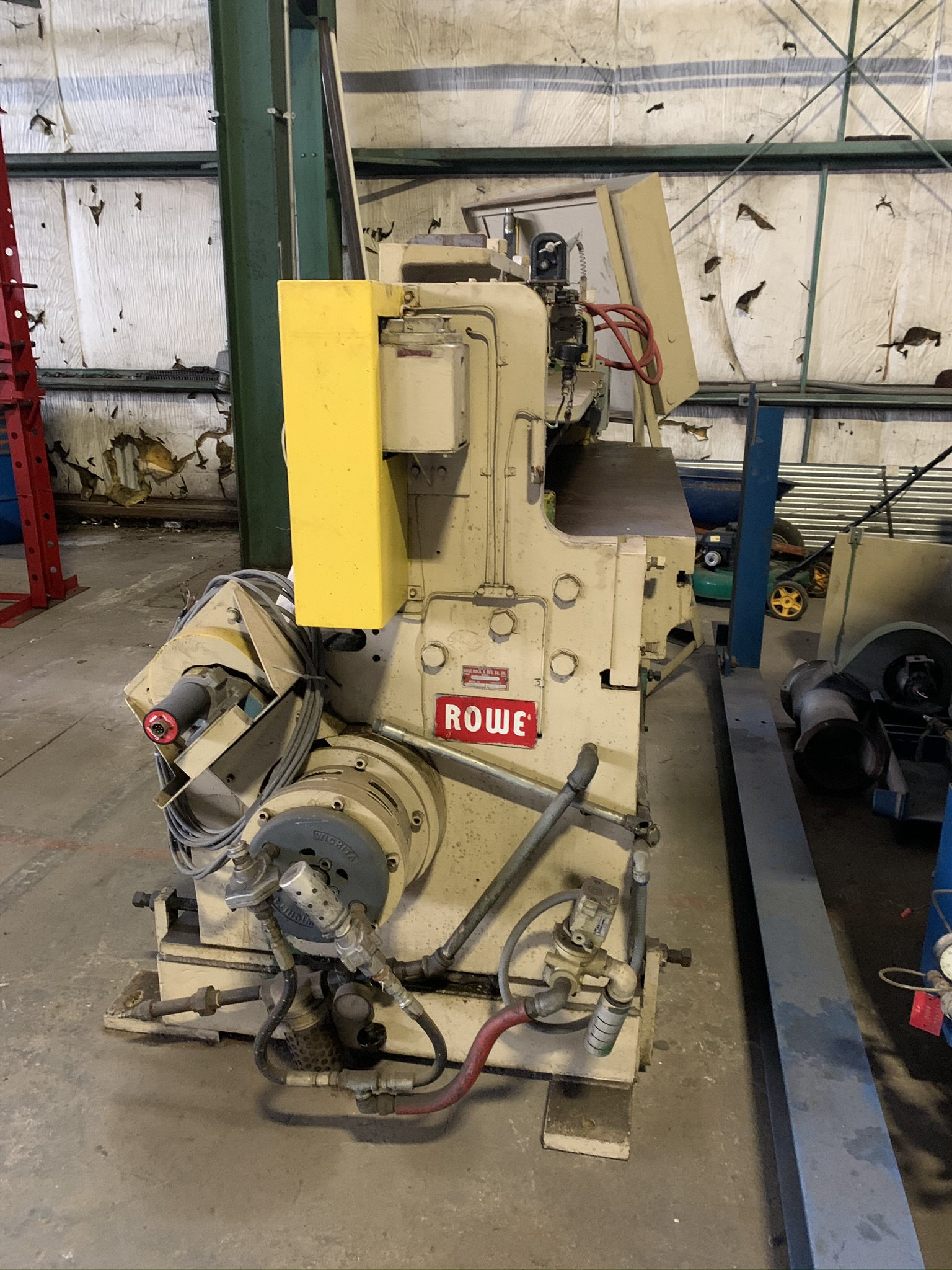 """WYSONG MODEL 1052 RKB LINE SHEAR; S/N P97-100, 52"""" WIDTH, AIR CLUTCH, BOW TIE BLADE, 15 HP 230/460 - Image 4 of 5"""