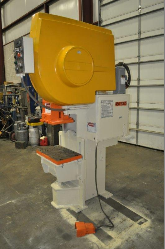 """35 TON NIAGARA MODEL AMB-35 ADJUSTABLE BEND HORN PRESSES; S/N 49359, 24"""" LEFT TO RIGHT X 16"""" FRONT - Image 7 of 9"""