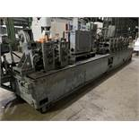 YODER MODEL M2.5 TUBE MILL; S/N C0-1424, 9-STAND 4-BREADKDOWN STANDS, (3) FINISHING STANDS, (2)
