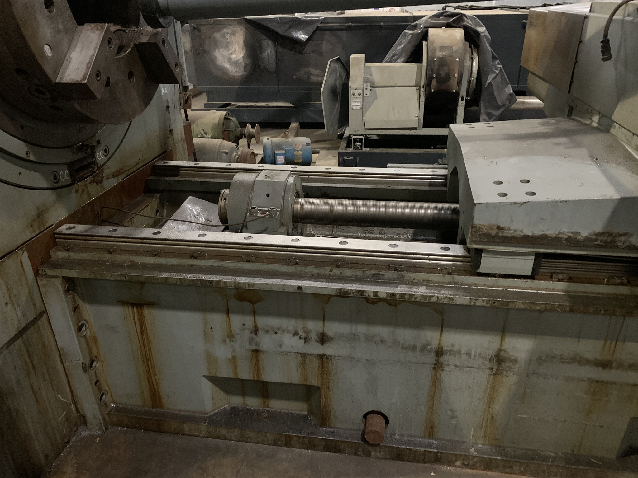 BUTLER NEWELL MODEL ICG100 CNC INTERNAL GRINDER; S/N CNC4069, 2005 RETROFITTED WITH FANUC, - Image 3 of 5