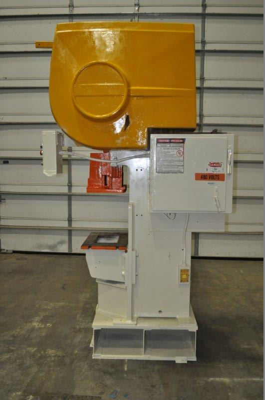 "35 TON NIAGARA MODEL AMB-35 ADJUSTABLE BEND HORN PRESSES; S/N 49362, 24"" LEFT TO RIGHT X 16"" FRONT - Image 2 of 8"