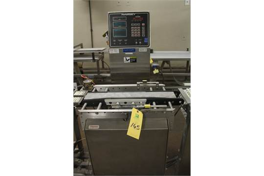 Thermo Ramsey ICORE Autocheck 8000 Check Weigher, S/N