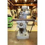 "Van Norman Mdl16 Universal Mill, Table 10"" x 40.5"", SN M-2089-958"