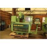"Maho MH600E Vertical CNC Mill, 4000RPM, 16""x39"" table, SN 62928"