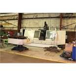 """Cincinnati Sabre 2000 CNC Vertical Mill, 84"""" x 30"""" Table, 3700 lb. Load Cap., X=80"""", Y=30"""", Z=32"""","""