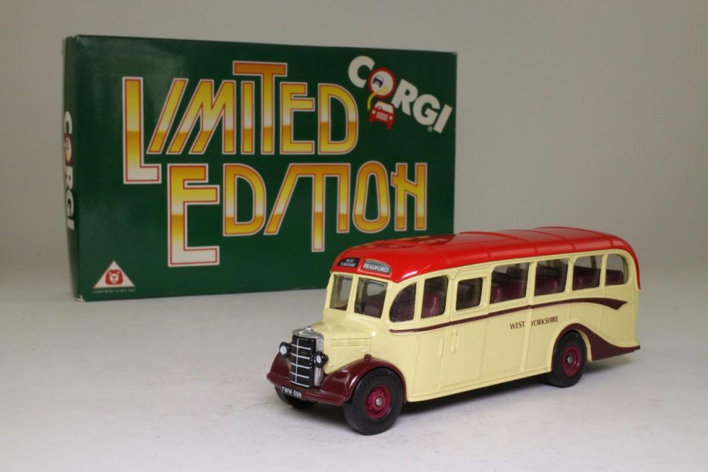 Limited Edition Corgi Bedford OB Coach West Yorkshire - D949/26