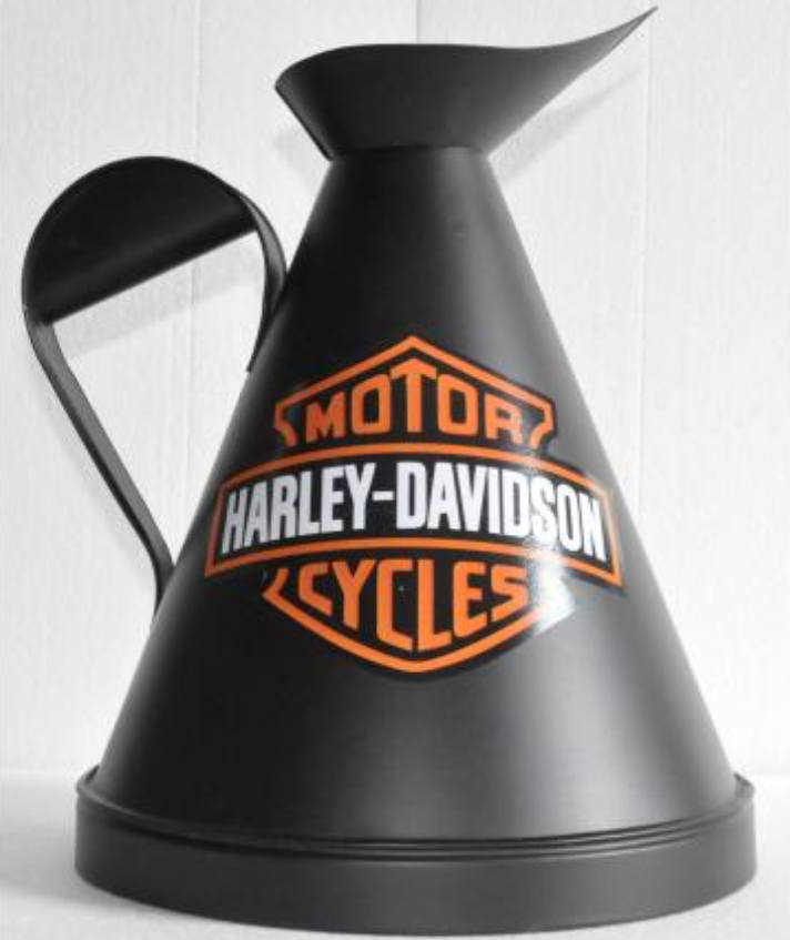 Harley Davidson Motorcycles Oil Jug