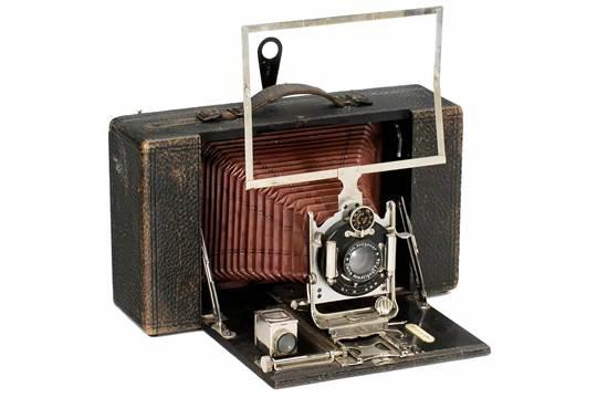 Krügener delta cartridge camera c. 1900 dr. krügener frankfurt