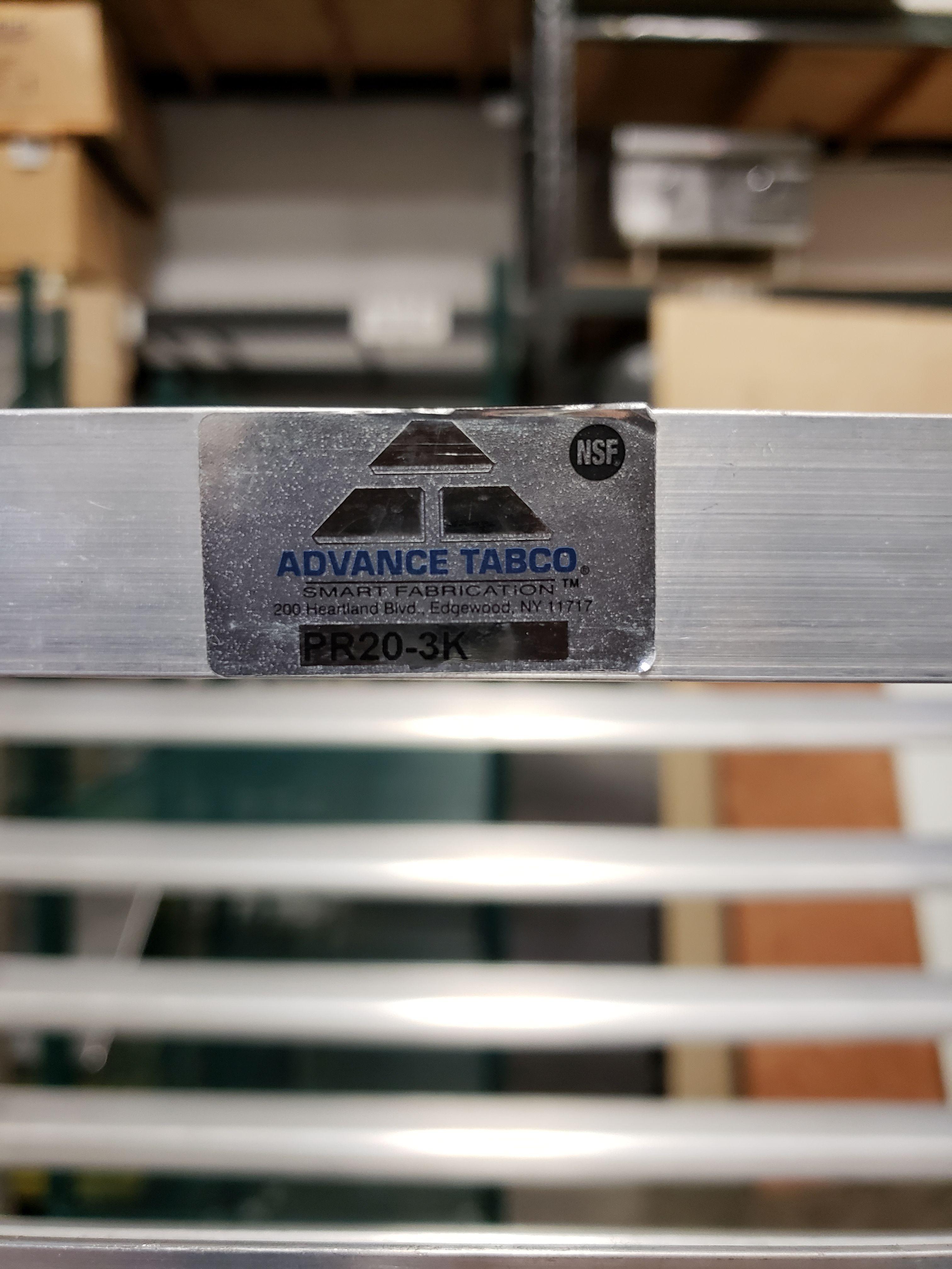 Lot 30 - Aluminum 20 Pan Sheet Pan Rack on Casters - Advance Tabco