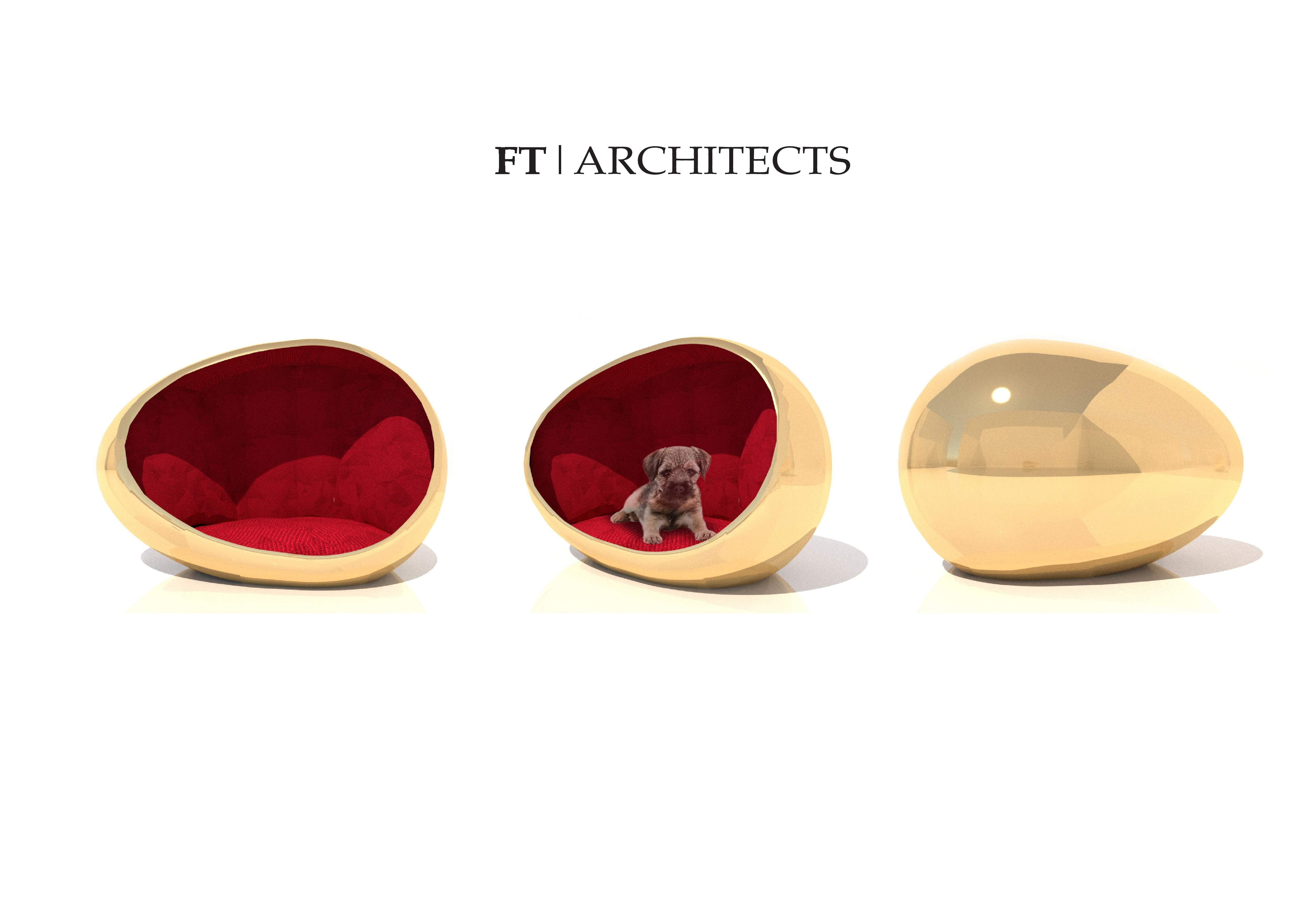 Lot 11 - FT Architects with Bruce Oldfield OBE - The Egg