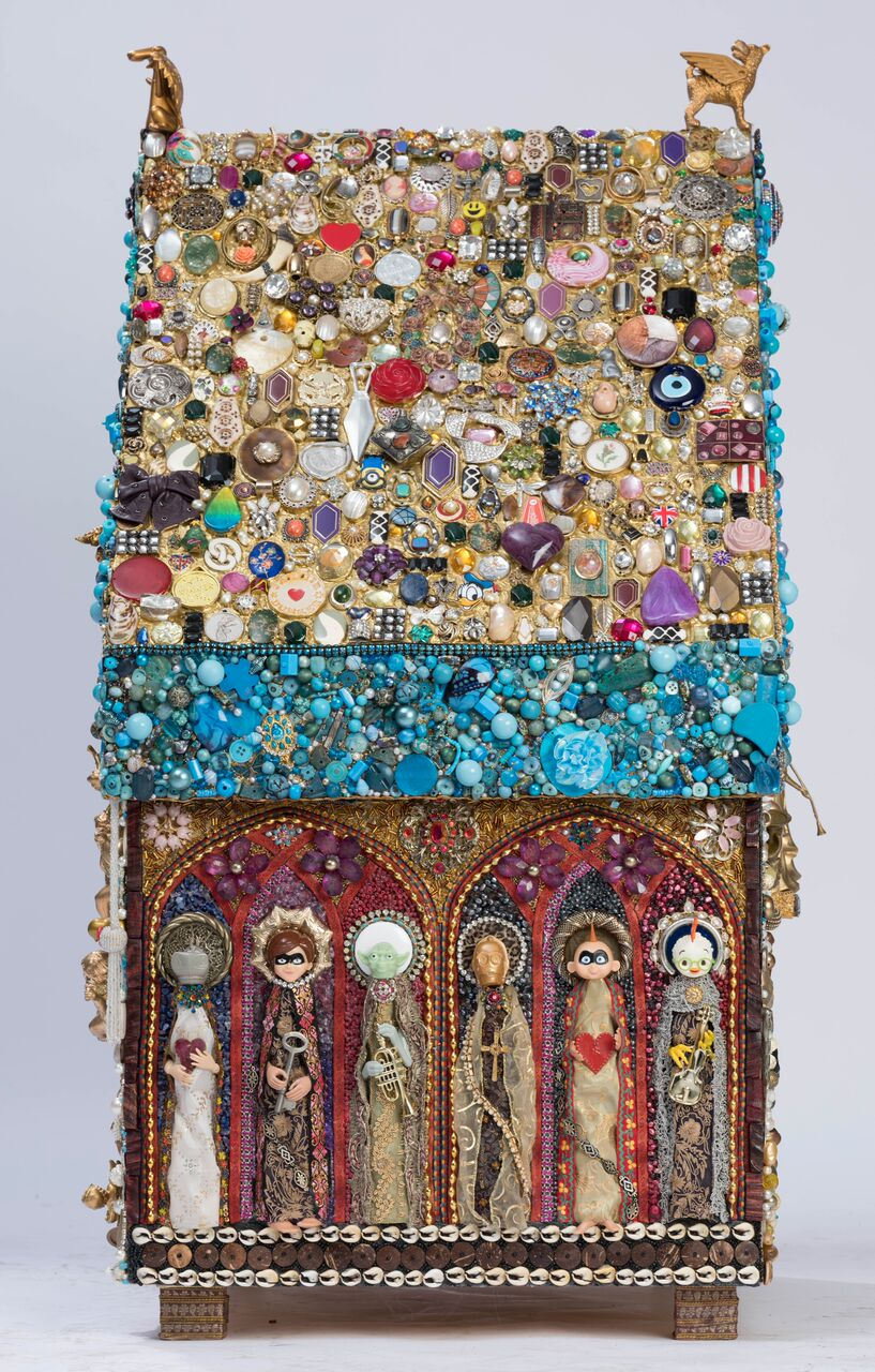 Jane Perkins - Shrine to St.Roch - Image 4 of 8