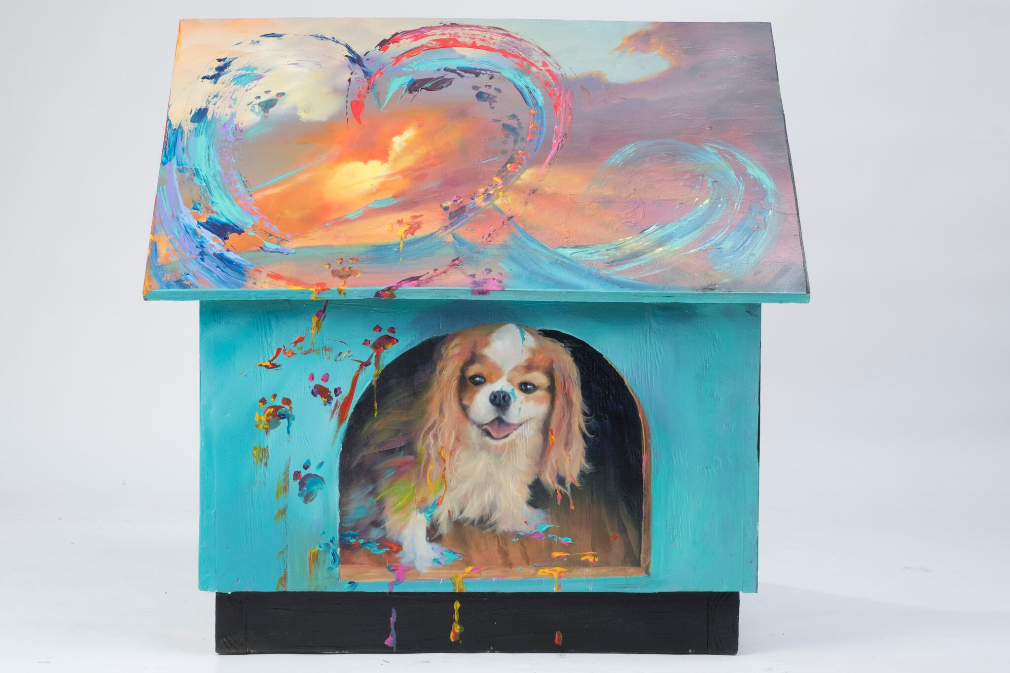 Lot 22 - Jim Warren -The Dog Decorator