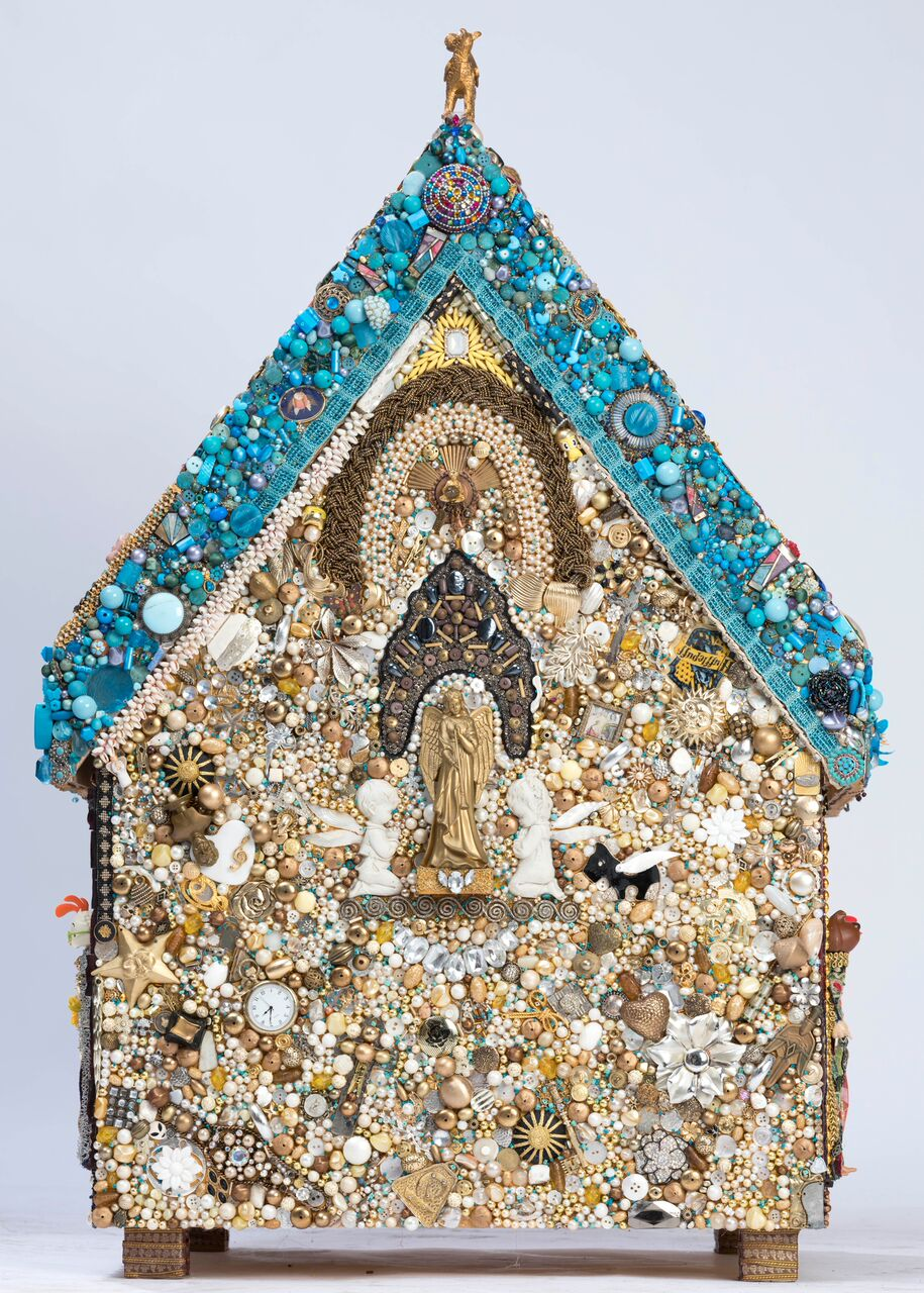 Jane Perkins - Shrine to St.Roch - Image 3 of 8