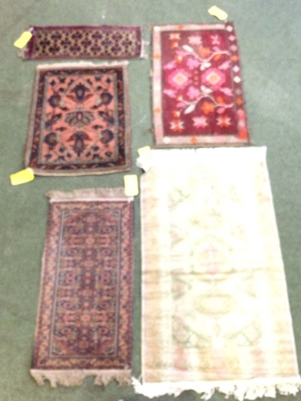 Lot 723 - 5 small rugs