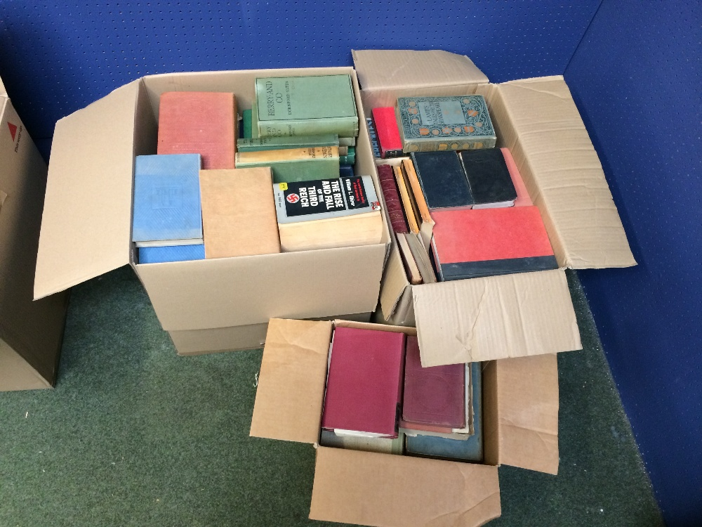 Lot 12 - General Clearance Lots: qty of books