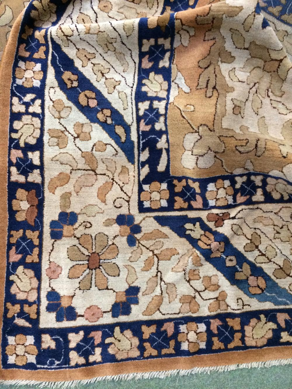 Lot 705 - Large European carpet circa 1920 5.27 X 3.21m