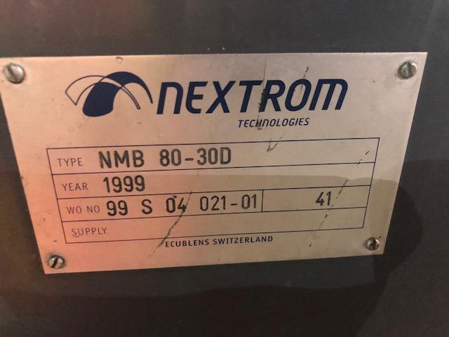 Lot 111 - Nextrom 80mm NMB Extruder