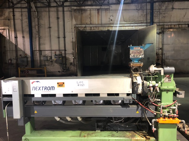 Lot 110 - Nextrom 80mm NMB Extruder