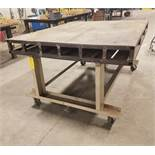 Portable Work Table, 60 In. X 72 In.