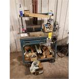 Metal Work Station and Contents